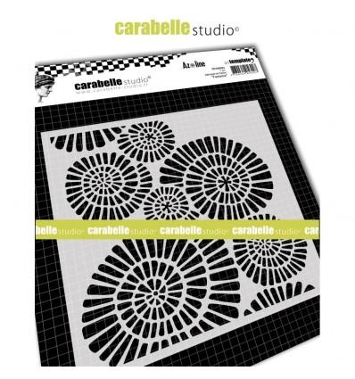 Stencil Schablone Fantasie - Carabelle Studio