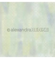Scrapbooking Papier Teppich lindgrün- Alexandra Renke