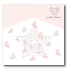 Stanzschablonen Schlichte Sterne - Charlie und Paulchen