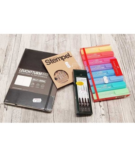 Bullet Journal Starter-Kit, Schwarz