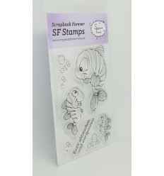 Clear Stamps Fische - Scrapbook Forever