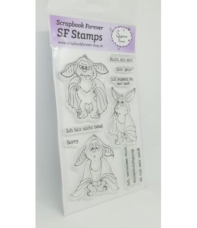 Clear Stamps Fledermäuse - Scrapbook Forever
