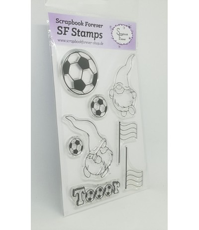 Clear Stamps Wichtel Fussball - Scrapbook Forever