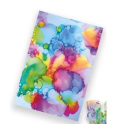 Flexfolie Watercolor Love, A4 - Plottermarie