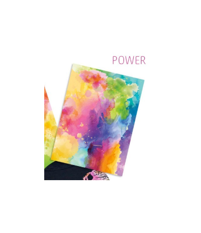 Flexfolie Watercolor 2.0 Power, A4 - Plottermarie