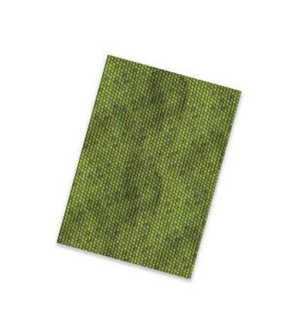 Flexfolie Tierisch Schuppen grün, A4 - Plottermarie