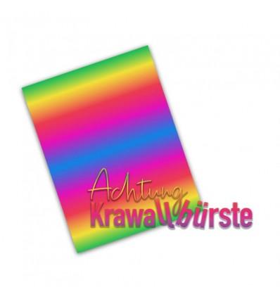 Vinylfolie Rainbow World Fairyrainbow , A4 - Plottermarie