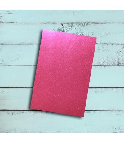 Vinylfolie leicht glitzernd pink, A4 - Plottermarie