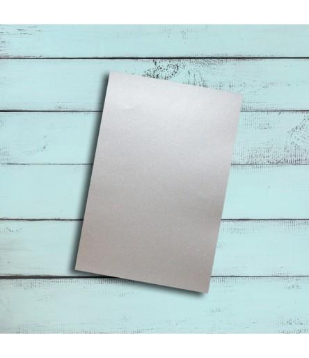 Vinylfolie leicht glitzernd silber, A4 - Plottermarie