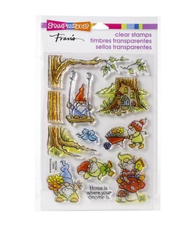 Clear Stamps Gnoming Around - Stampendous