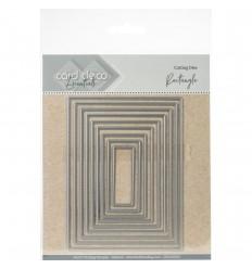 Stanzschablonen Rectangke - Card Deco