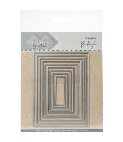 Stanzschablonen Rectangle - Card Deco