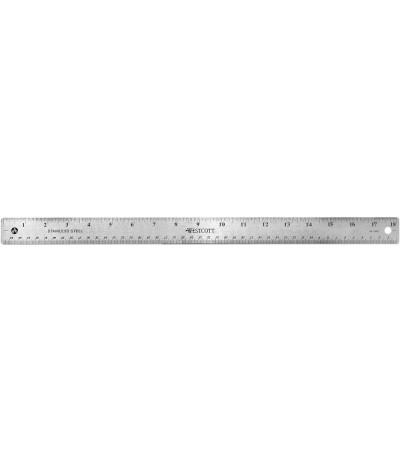 "Metallmassstab 46 cm / 18"" - Westcott"