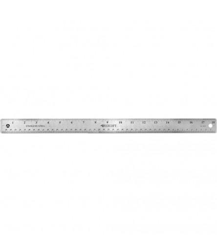 "Metalmassstab 30.5 cm / 12"" - Westcott"