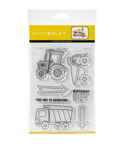 Clear Stamps Little Builder - Photo Play