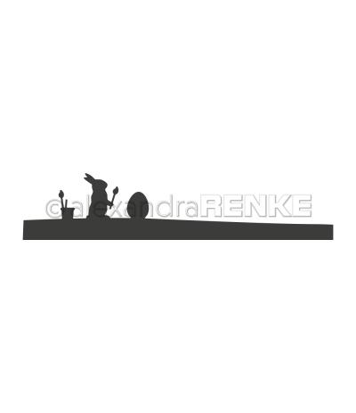 Stanzschablone Panorama Ostermalerei - Alexandra Renke