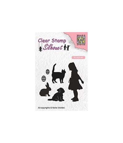 Clear Stamps Animal Lover - Nellie Snellen