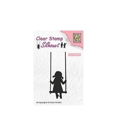 Clear Stamp Swinging - Nellie Snellen