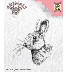 Clear Stamp Rabbit 2 - Nellie Snellie
