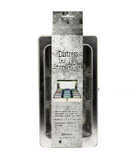 Distress Ink Pad Storage Tin - Tim Holtz