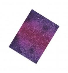 Flexfolie Blurr Glitter pink-lila, A4 - Plottermarie