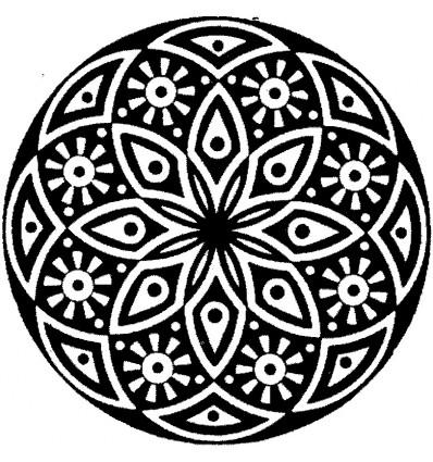 Rondelle Arabisch Stempel
