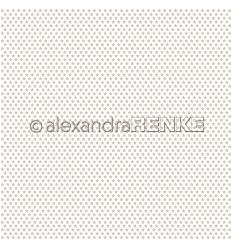 Scrapbooking Papier Sterne Rapport Taupe - Alexandra Renke