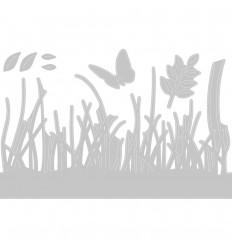 Stanzschablonen Springtime Borders - Sizzix