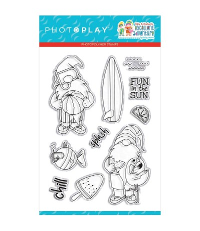 Clear Stamps Tulla & Norbert's Excellent Adventure - Photo Play