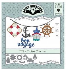Stanzschablone Cruise Charms - Karen Buniston