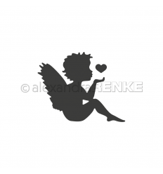 Stanzschablone Engel mit Herz - Alexandra Renke
