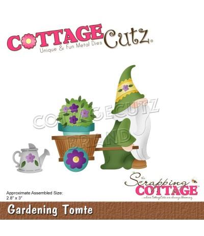 Stanzschablone Gardening Tomte - Cottage Cutz
