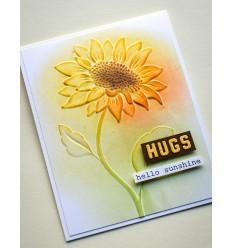 Prägeschablone Magnificent Sunflower 3D - Memory Box