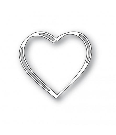 Stanzschablone Little Sketch Heart - Memory Box