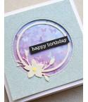 Stanzschablone Magnolia Circle Frame - Memory Box