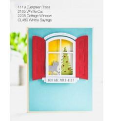 Stanzschablonen Cottage Window - Memory Box