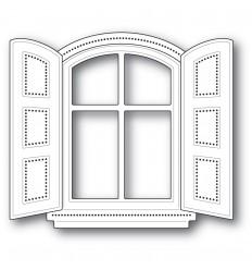 Stanzschablonen Cottage Window - Poppy Stamps