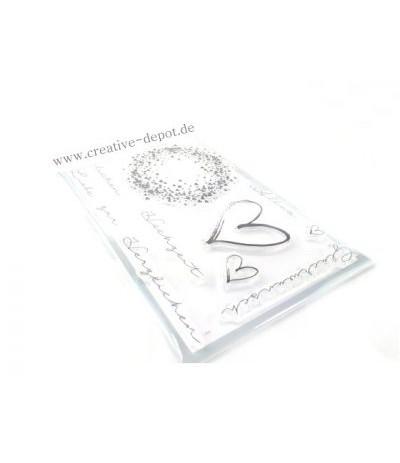 Clear Stamp Set Klassische Hochzeit - Creative Depot