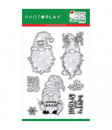 Clear Stamps Gnome for the Holidays - Photoplay