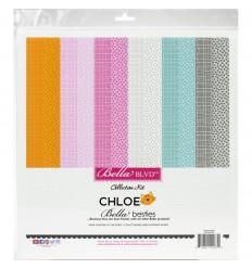 "Scrapbooking Papier Chloe, 12"" - Bella BLVD"
