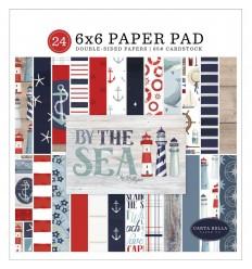 """Scrapbooking Papier By the Sea, 6"""" - Carta Bella"""