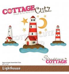 Stanzschablone Lighthouse - Cottage Cutz