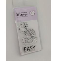 Clear Stamp Schildkröte Easy - Scrapbook Forever