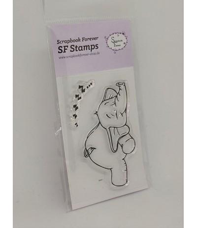 Clear Stamp Elefant Mini - Scrapbook Forever
