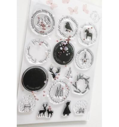 Clear Stamps XXL Weihnachts-Geschenkanhänger - Charlie& Paulchen