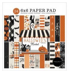 "Scrapbooking Papier Halloween Market, 6x6"" - Carta Bella"