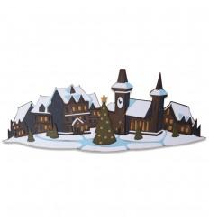 Stanzschablonen Colorize Holiday Village - Tim Holtz