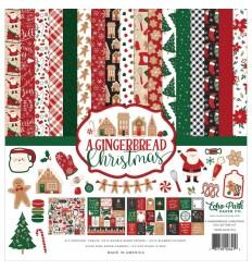 "Scrapbooking Papier A Gingerbread Christmas, 12"" x 12"" - Echo Park"