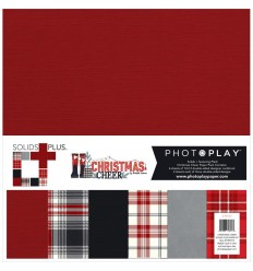 "Scrapbooking Papier Christmas Cheer, 12"" x 12"" - Photo Play"