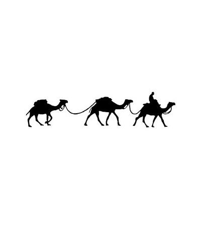 3 Kamele Stempel